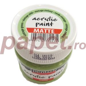 Culoare acrilica mata 50ML Vintage Green P20989