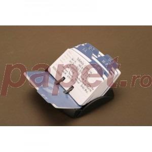 Fisier liniar -  125 carduri, culoare neagra 67060