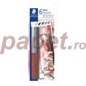 Creta color pastel Staedtler dura 6/blister STH-2490-SBK-1