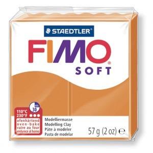 Lut polimeric Fimo Soft pentru modelaj 8020-Sunny orange