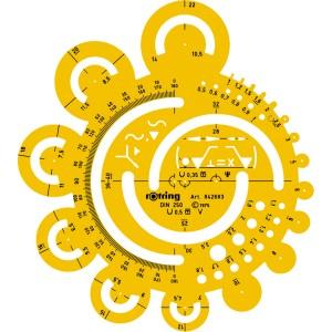 Sablon Rotring tangente S0238341