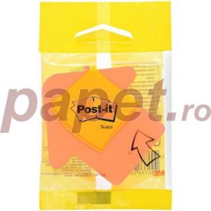 Notes adeziv 3M format inima / sageata 3M-2007H75