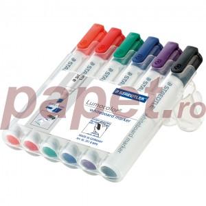 Marker tabla Staedtler 6 culori / set ST351WP6