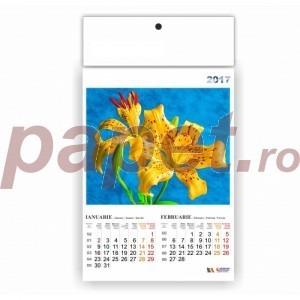 Calendar 2017 policromie A3 cu flori C17FL
