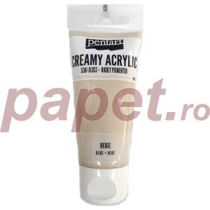 Acrylic color creamy semi-gloss 60ML Beige P29136