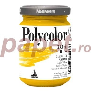 Culoare acrilica Maimeri polycolor 140 ml naples yellow 1220104