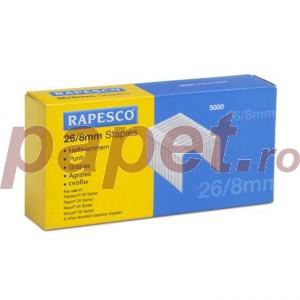 Capse Rapesco 26/8 5000buc/cut 6872
