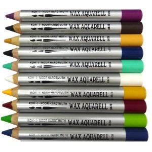 Creioane wax aquarell Koh-I-Noor diverse culori K8280