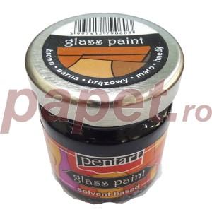 Culori sticla sau vitraliu 30ML Brown P0782