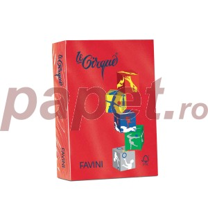Carton A4 color 160G/MP rosu 5420