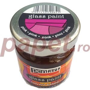 Culori sticla sau vitraliu 30ML Roz P25112