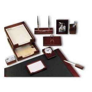 Set birou lemn mahon 9 piese 9267XDU S859