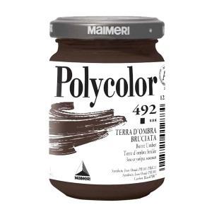 Culoare acrilica Maimeri polycolor 140 ml burnt umber 1220492
