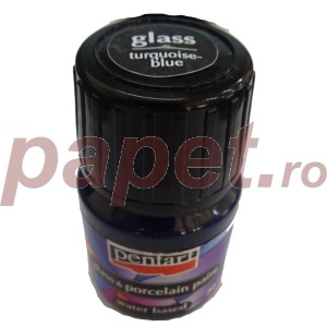 Culori sticla/portelan sau ceramica 30ML Turqoise Blue P21344