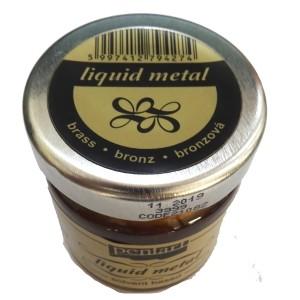 Foita lichida - metal lichid Bronse 30ML P21082