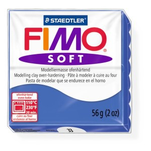 Lut polimeric Fimo Soft pentru modelaj 8020-Brilliant blue