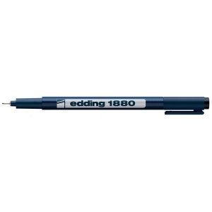 Fineliner Edding 1880 0.7mm negru ED188071