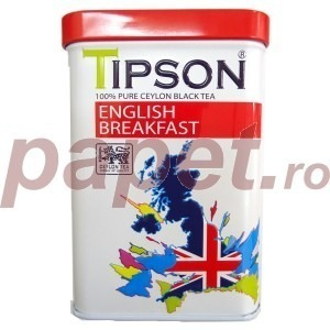 Ceai Tipson english breakfast 85 g C80122