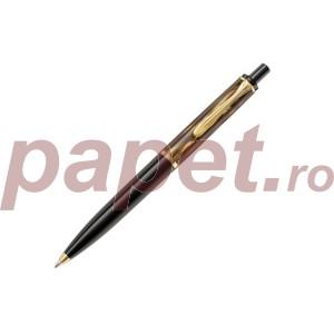 Pix classic Pelikan K200 brown marbled si accesorii placate cu aur 808965