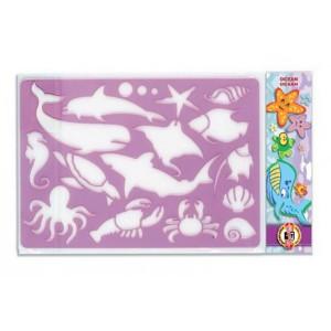 Sablon animale ocean Koh-I-Noor K982003