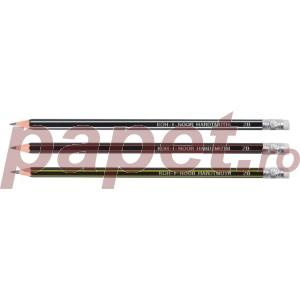 Creion grafit cu guma HB Koh-I-Noor kin flexibil K1397
