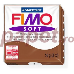 Lut polimeric Fimo Soft pentru modelaj 8020-Caramel