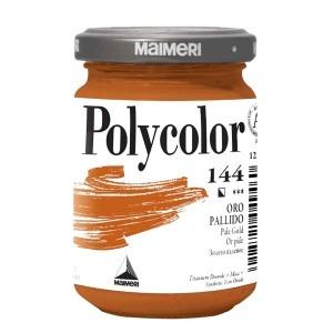 Culoare acrilica Maimeri polycolor 140 ml pale gold 1220144