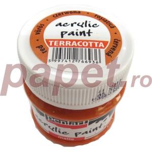 Culoare acrilica mata 50ML Red Clay P110/4