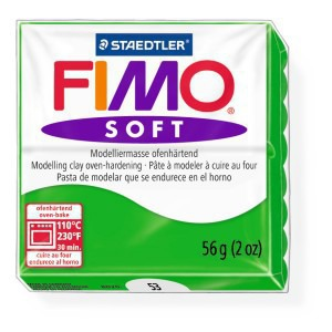 Lut polimeric Fimo Soft pentru modelaj 8020-Tropical green