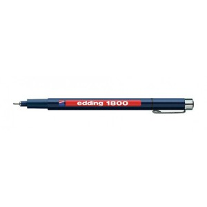 Fineliner Edding 1800 0.3mm negru ED180031
