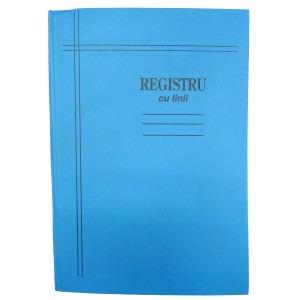 Registru A4-cartonat 200 file mate/dictando