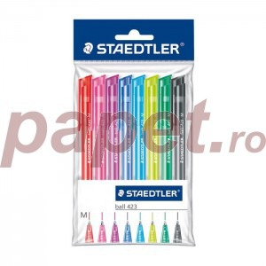 Set pix cu mecanism Staedtler 423 Triplus M 8 culori ST42335MPB8