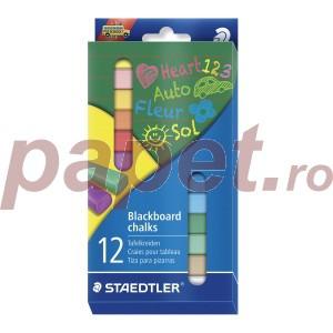 Creta color Staedtler 12 culori / set STH-2360