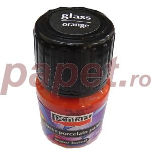 Culori sticla/portelan sau ceramica 30ML Orange P21336