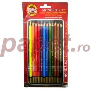 Set de 12 creioane color Koh-I-Noor aquarell mondeluz K3722-12