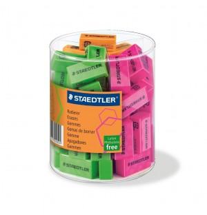 Radiera Staedtler culoare neon ST-526-F