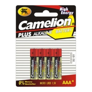 Baterie Camelion alkalina AAA LR3