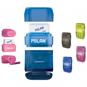Ascutitoare cu radiera compact Milan 3615