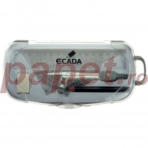 Trusa geometrie plastic Ecada 3920