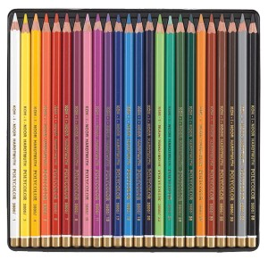 Set creioane color Polycolor Koh-I-Noor 24/set K3824-24