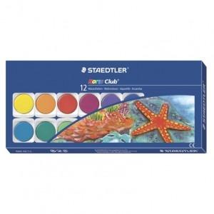 Acuarele Staedtler 12 culori / set ST-888-NC12