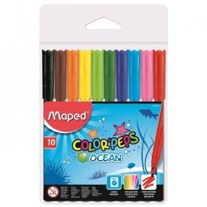 Carioca Maped 10 culori / set Ocean M845724