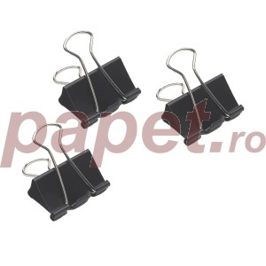 Binder metalic color 19MM Rapesco 10buc/pachet FCB19