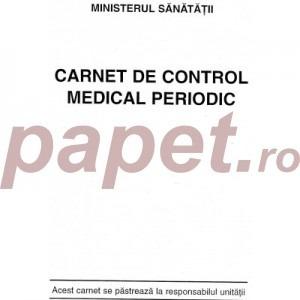Carnet control medical periodic 137