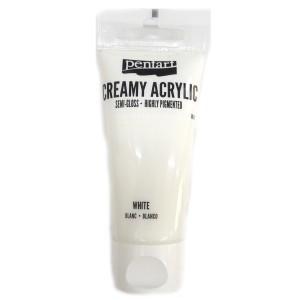 Acrylic color creamy semi-gloss 60ML White P27942