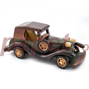Masina decorativa de epoca din lemn M278