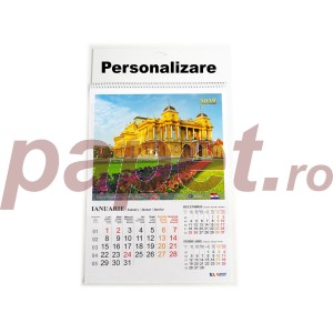 Calendar 2018 A3 Arhi policromie capitale 12coli 9001