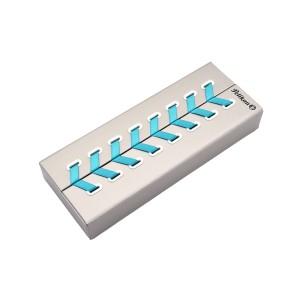 Pix Pelikan Souveran K600 mina tip parker si corp turqoise white 806473