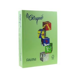 Carton A4 color Favini 160G/MP verde iarba FAV203160