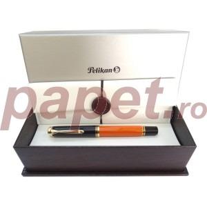 Stilou Pelikan souveran m800 M penita din aur de 14k 970806